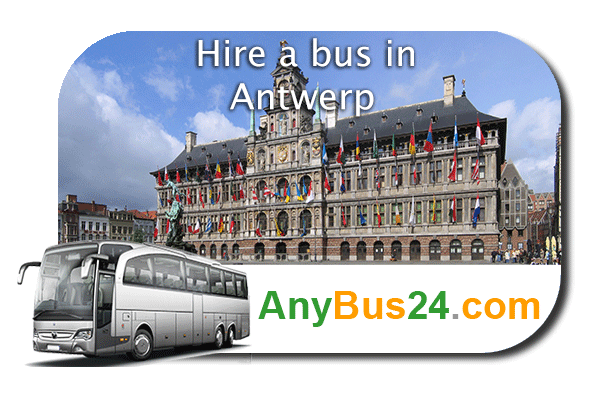 Hire a bus in Antwerp