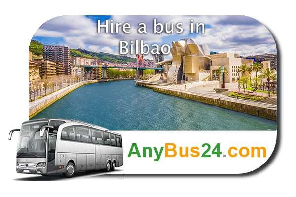 Hire a bus in Bilbao