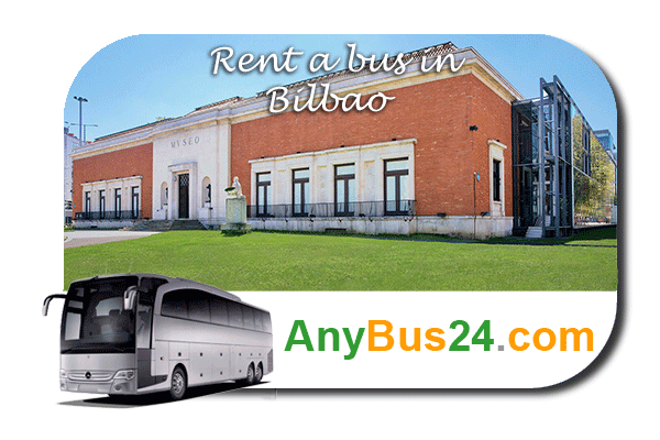 Rent a bus in Bilbao