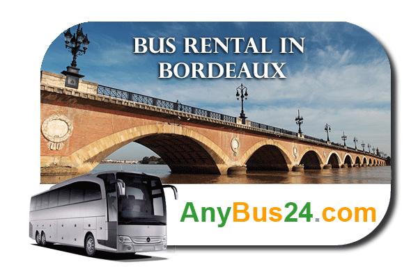 Hire a bus in Bordeaux