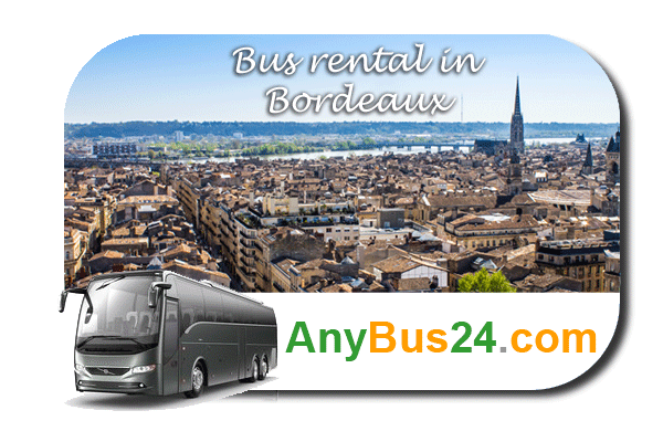 Rent a bus in Bordeaux