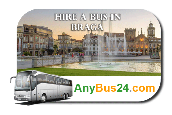 Hire a bus in Braga