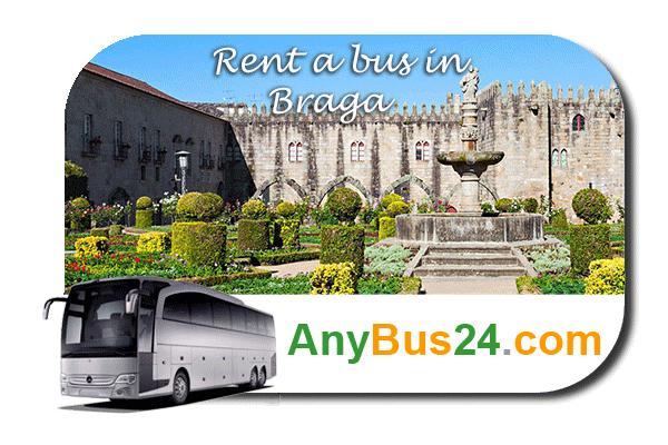 Rent a bus in Braga
