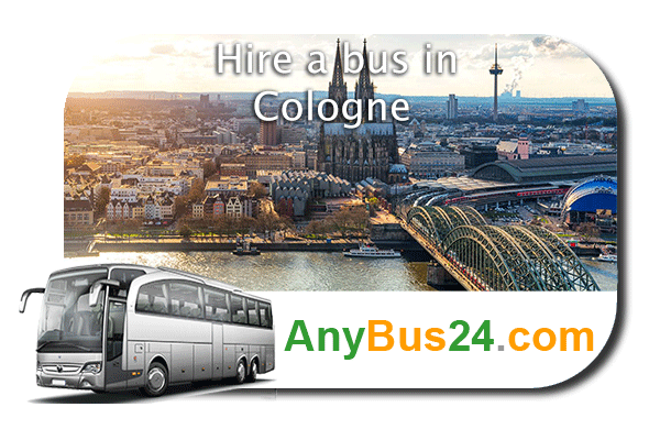 Hire a bus in Cologne