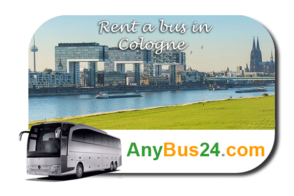 Rent a bus in Cologne
