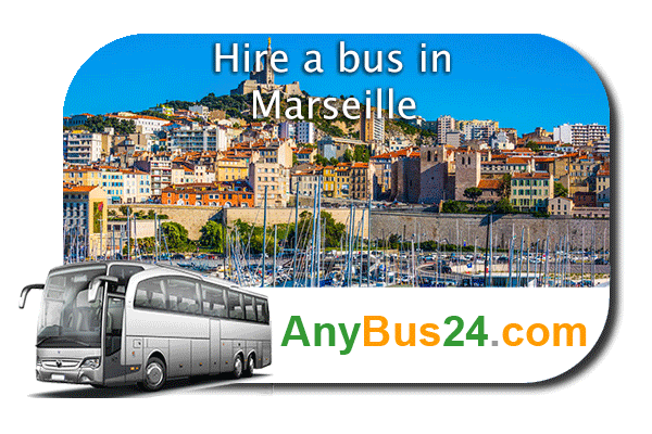 Hire a bus in Marseille