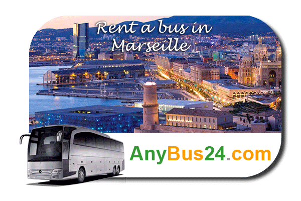 Rent a bus in Marseille