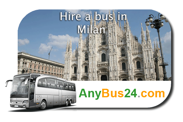 Hire a bus in Milan