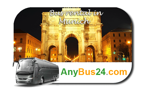 Rent a bus in Munich