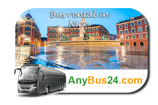 Rent a bus in Nice