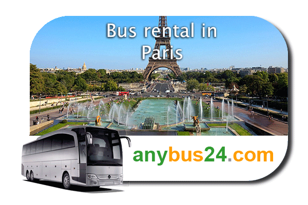 Hire a bus in Paris