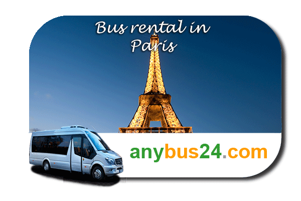 Rent a bus in Paris