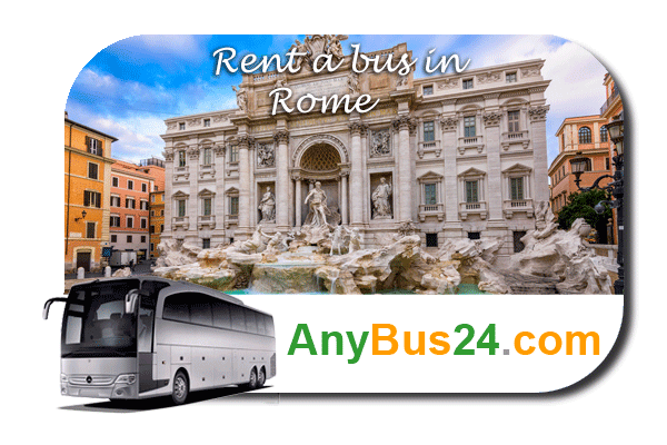 Rental of coach with driver in Rome