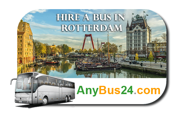 Hire a bus in Rotterdam