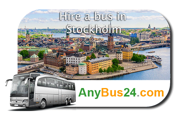 Hire a bus in Stockholm