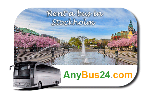 Rent a bus in Stockholm