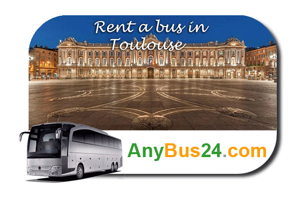 Rent a bus in Toulouse