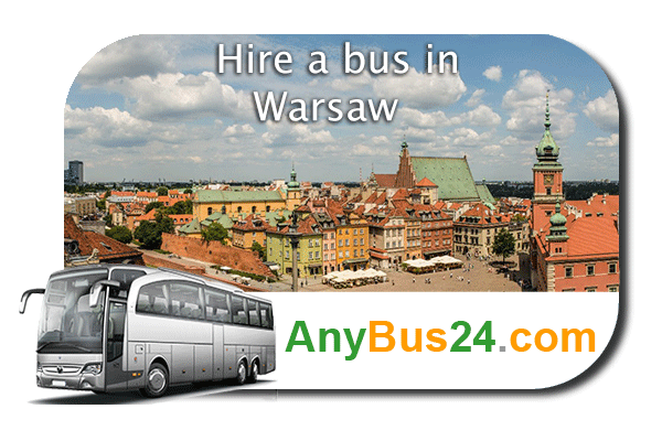 Hire a bus in Warsaw
