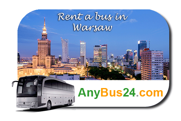 Rent a bus in Warsaw