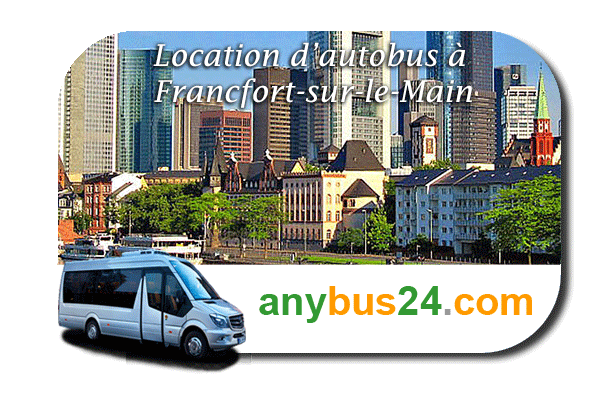 Location d'autobus à Francfort