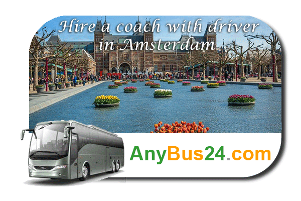 Hire a coach with driver in Amsterdam