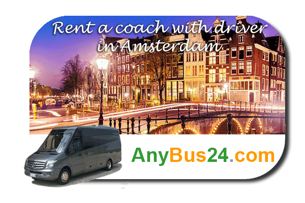 Rental of coach with driver in Amsterdam