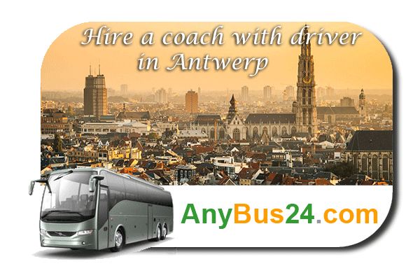 Hire a coach with driver in Antwerp