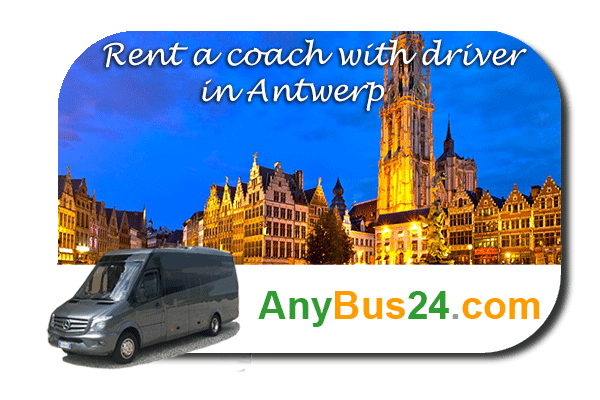Rental of coach with driver in Antwerp