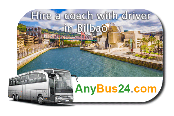 Hire a coach with driver in Bilbao