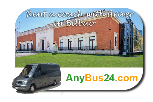 Rental of coach with driver in Bilbao