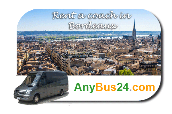 Rental of coach with driver in Bordeaux