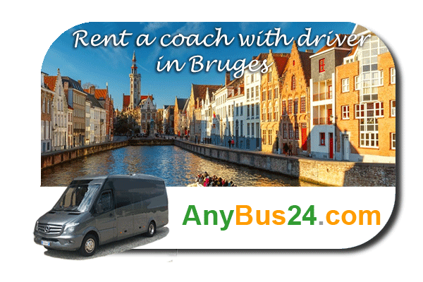 Rental of coach with driver in Bruges