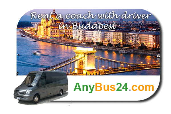 Rental of coach with driver in Budapest