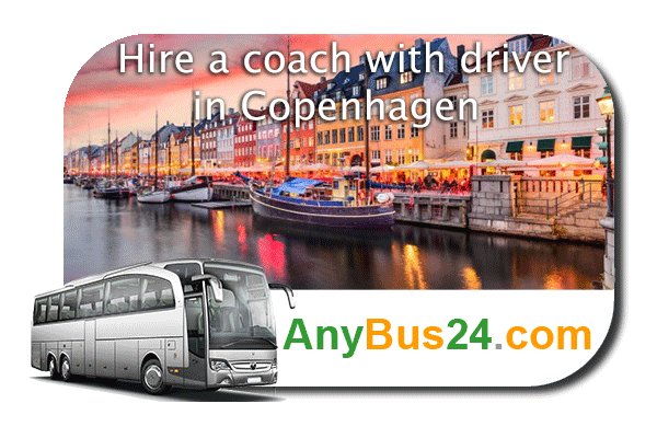 Hire a coach with driver in Copenhagen