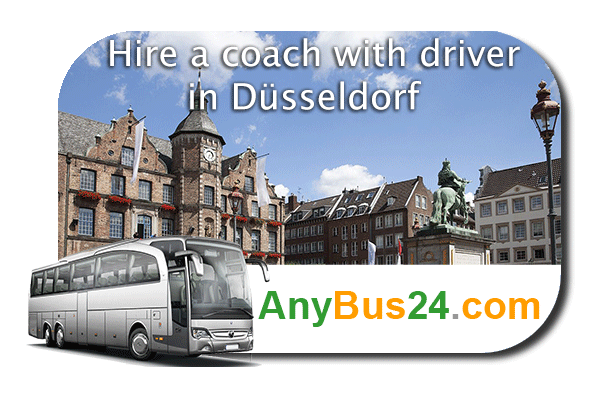 Hire a coach with driver in Düsseldorf