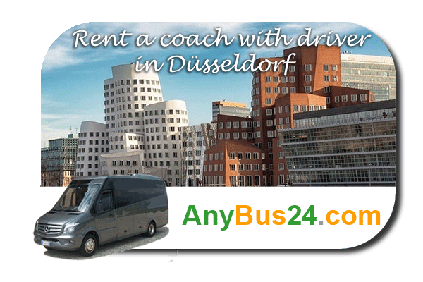 Rental of coach with driver in Düsseldorf