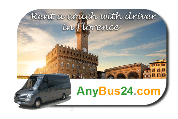 Rental of coach with driver in Florence