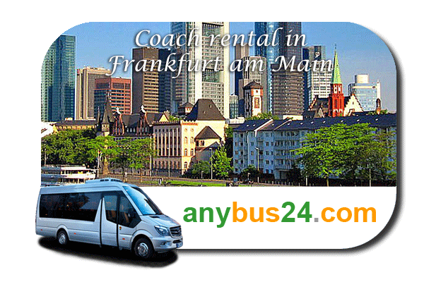 Rental of coach with driver in Frankfurt