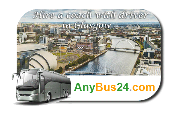 Hire a coach with driver in Glasgow