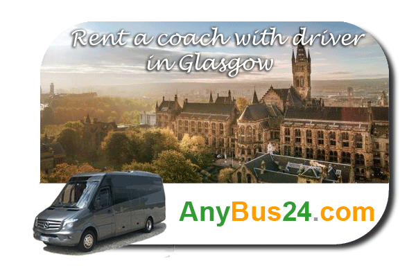 Rental of coach with driver in Glasgow