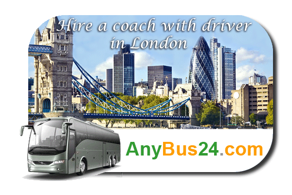 Hire a coach with driver in London