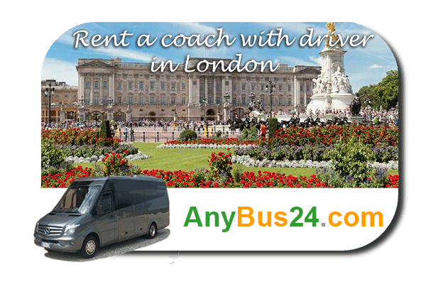 Rental of coach with driver in London