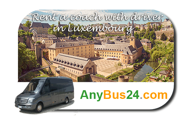 Rental of coach with driver in Luxembourg