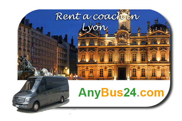 Rental of coach with driver in Lyon