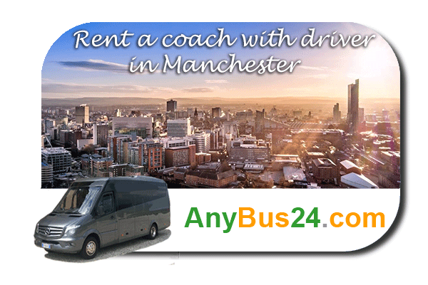 Rental of coach with driver in Manchester