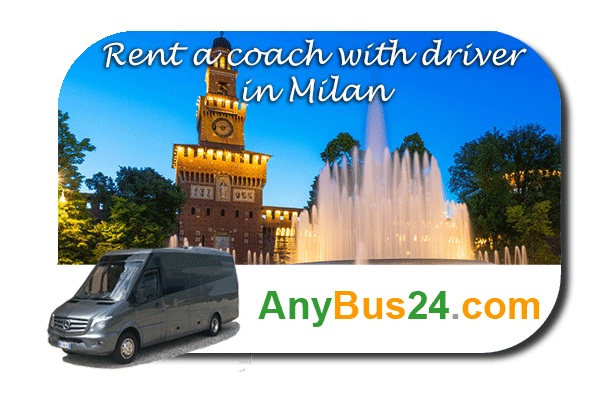 Rental of coach with driver in Milan