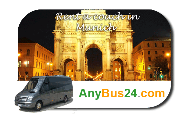 Rental of coach with driver in Munich