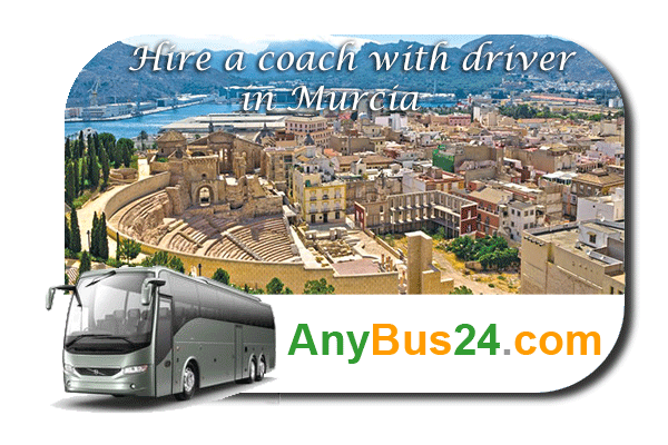 Hire a coach with driver in Murcia