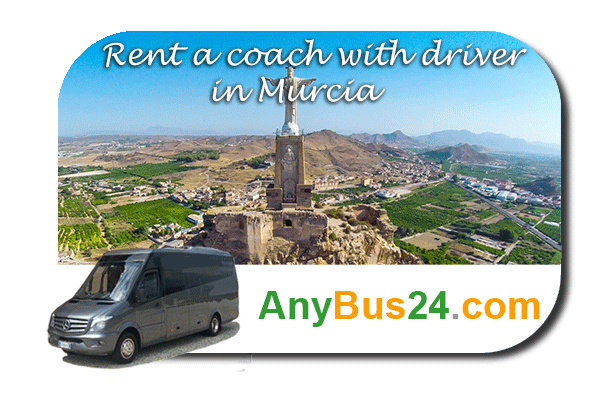 Rental of coach with driver in Murcia