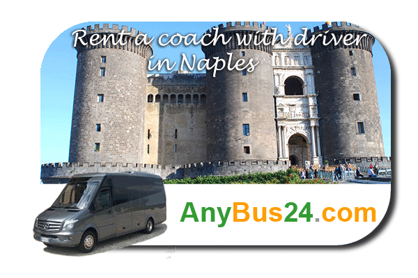 Rental of coach with driver in Naples